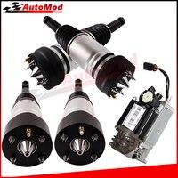 4x Air Suspension + Air  Compressor Pump for Jaguar XJ8 XJ C2C41349 C2C41340 C2C28407 C2C28531 C2C31014  C2C39765 C2C41343|Shock Absorber& Struts| |  -