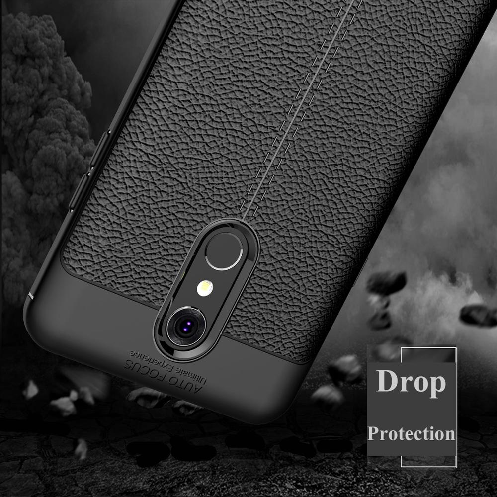 US $3 0 14% OFF phone cases for LG Q Stylus 2018 best business anti shock  tough rugged soft silicone case back cover for LG Stylo 4 case 6 2inch-in