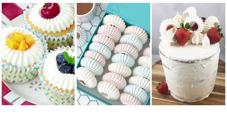 Pastry Tips Ice Cream Tool Baking Mold Icing Piping Nozzles Cake Decorating