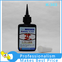 NOWY 50 ml, klej kafuter UV uv utwardzania kleju K-303 Akrylowe Przezroczyste plastikowe klej Akrylowy