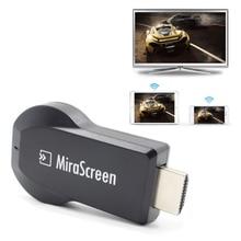 MiraScreen Airplay HDM 1080P беспроводной WiFi Дисплей приемник для ТВ-тюнера tv Stick Android Miracast для телефона ПК pk Chromecast