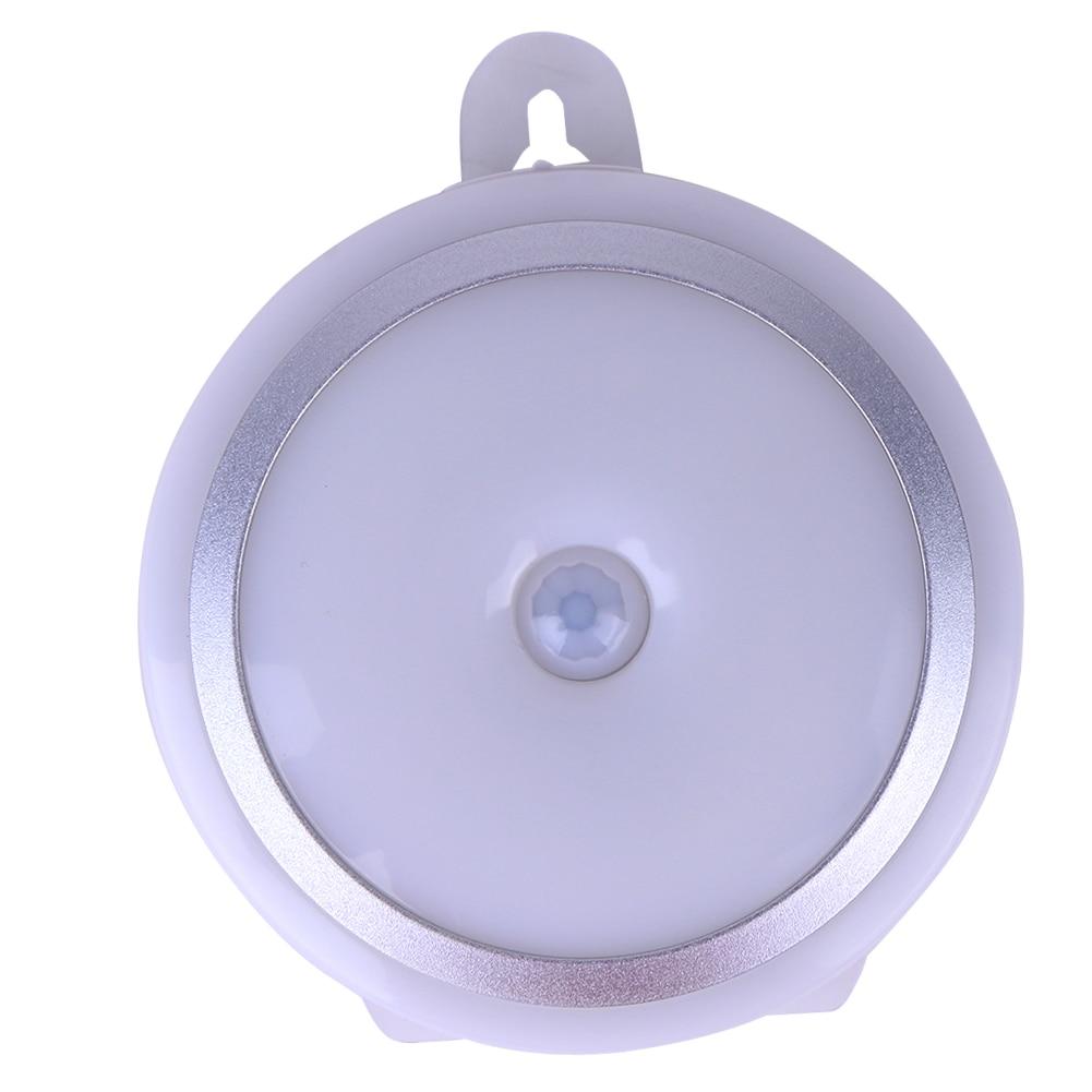 Mini Portable PIR Human Motion Sensor Night Light Home Hanging LED Light Fit Children Room Bedroom Corridor Bathroom Cabinets