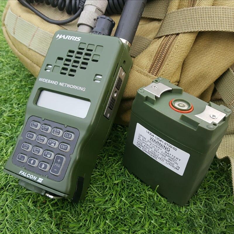 TCA AN/PRC-152A(UV) IPX7 армейская тактическая CS VHF UHF Двухдиапазонная Военная MBITR алюминиевая рация Ham двухстороннее радио PRC 152