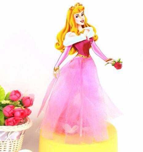 1 шт. тема принцесс из мультфильмов вечерние украшения для кексов Беби Шауэр детский День рождения аксессуары для украшения торта Торт Топпер