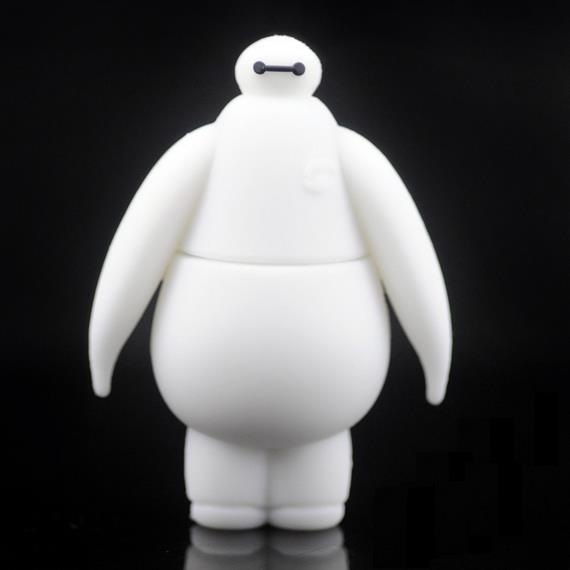New Big Hero 6 Baymax Robot USB 3.0 Flash Drive 512GB 1TB 128GB Flash Memory Stick Card Disk Gifts Pendrive 1TB Pen Drive 64GB