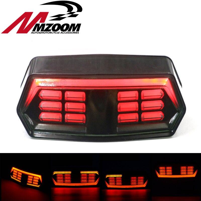 Motorcycle Signal Brake Stop Tail Light Operation Indicator Integrated Signal Lights For Honda MSX125 CBR650F CTX700 CTX700N Honda Grom