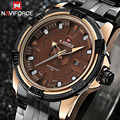 NAVIFORCE Watches Men Brand Luxury Full Steel Military Watches Men's Quartz Clock Men Watch Sports Wrist Watch relogio masculino