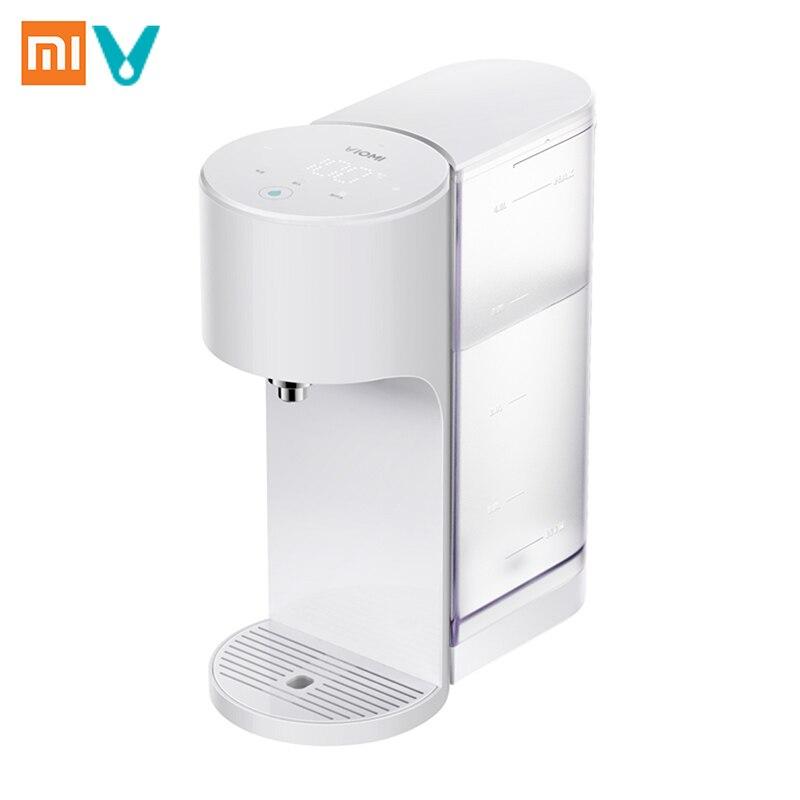 Xiaomi VIOMI APP Contrôle 4L Intelligent Distributeur D'eau Chaude Instantanée Chauffe-Eau Potable Bouilloire D'eau-Qualité Indes Bébé Lait partenaire