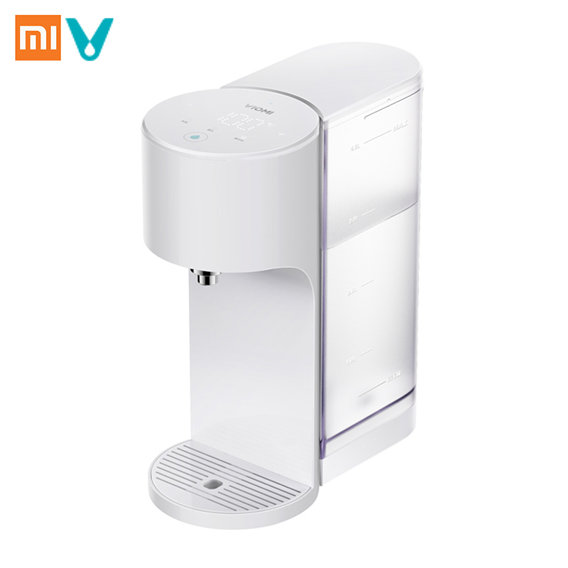 Xiaomi VIOMI APP Control 4L Smart Instant Hot Water Dispenser Heater Drinking Water Kettle Water-Quality Indes Baby Milk Partner