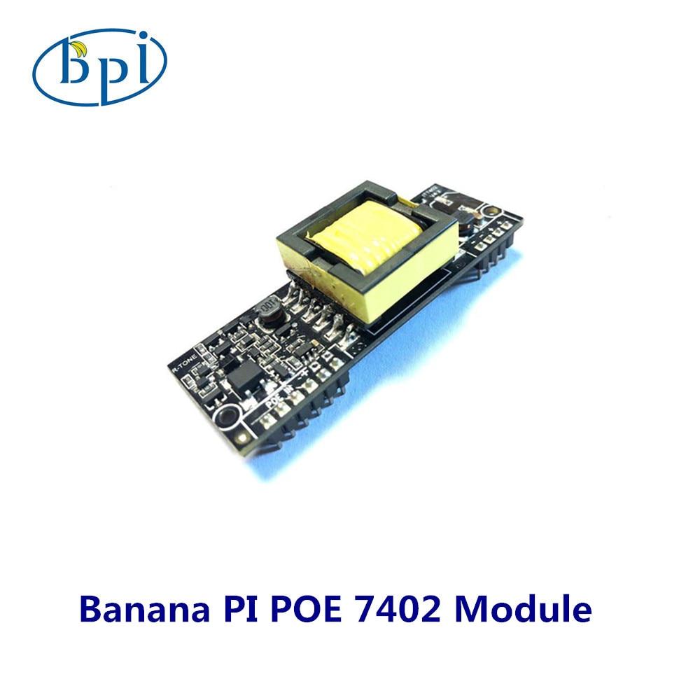 Banana PI POE 7402 Module, Applies To BPI R64 Board