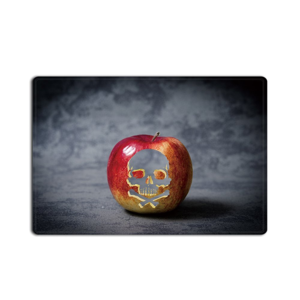 Memory Home Apple Floral Skull Living Room Doormat Kitchen Carpet Floor  Stairs Area Non Slip