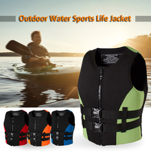 Neoprene Fishing Life Jacket Watersports Kayaking Boating Drifting Safety Vest Water Sports Man XXL Size