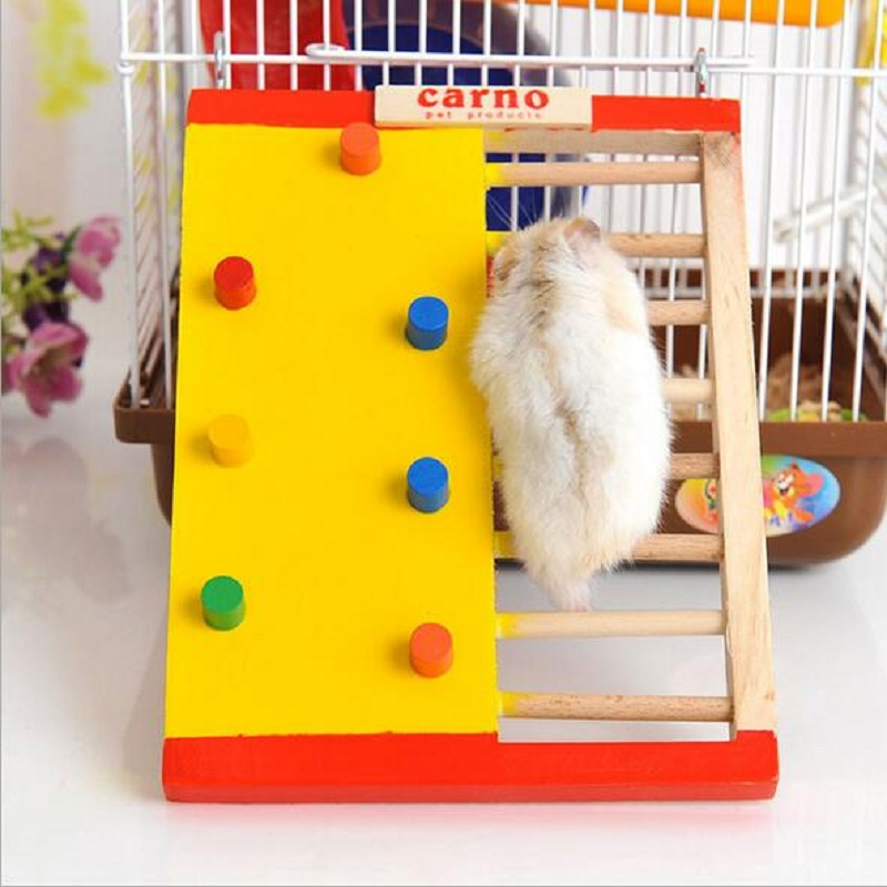 Wooden hamster cage house hamster toy gerbil cages for Discount guinea pig supplies