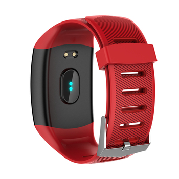 Q11 Smart Watch Waterproof Big Touch Screen OLED Message Heart Rate Time Smart band Fitness Activity Tracker Bracelet Wristband 6
