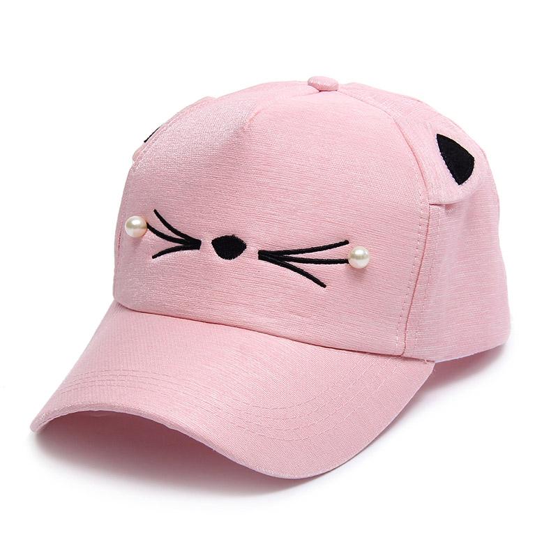cute cat ears baseball cap