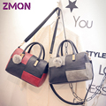 Women Messenger Bags Leather Casual Splice Shoulder Small Bag For Women Crossbody Bag Ladies Vintage Handbags Famous Brand 2016