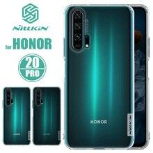 Pour Huawei Honor 20 20 Pro étui Nillkin TPU 0.6mm souple au toucher Silicone mince couverture arrière pour Huawei P40 Lite P40 Pro étui de téléphone