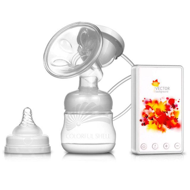 Sacaleches eléctrico Manual de Botella Chupete de Silicona Libre de BPA 150 ML Enfermería Lactancia Sacaleche Electrico Llantas Lait