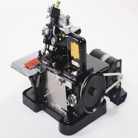 3000needle/min 255*210*270MM 220v 250W 14KG overlock sewing machine overlock machine foot trip 4MM with With governor