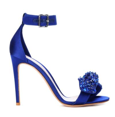 Women High Heels Sandals Pump Crystal Sandals Chic Heel Party Sexy Ladies Shoes Fashion Summer Rhinestone Party Ladies Pumps new 2018 high heel shoes woman sandals rhinestone platform pumps high heeled 20cm summer women pumps fashion party prom shoes