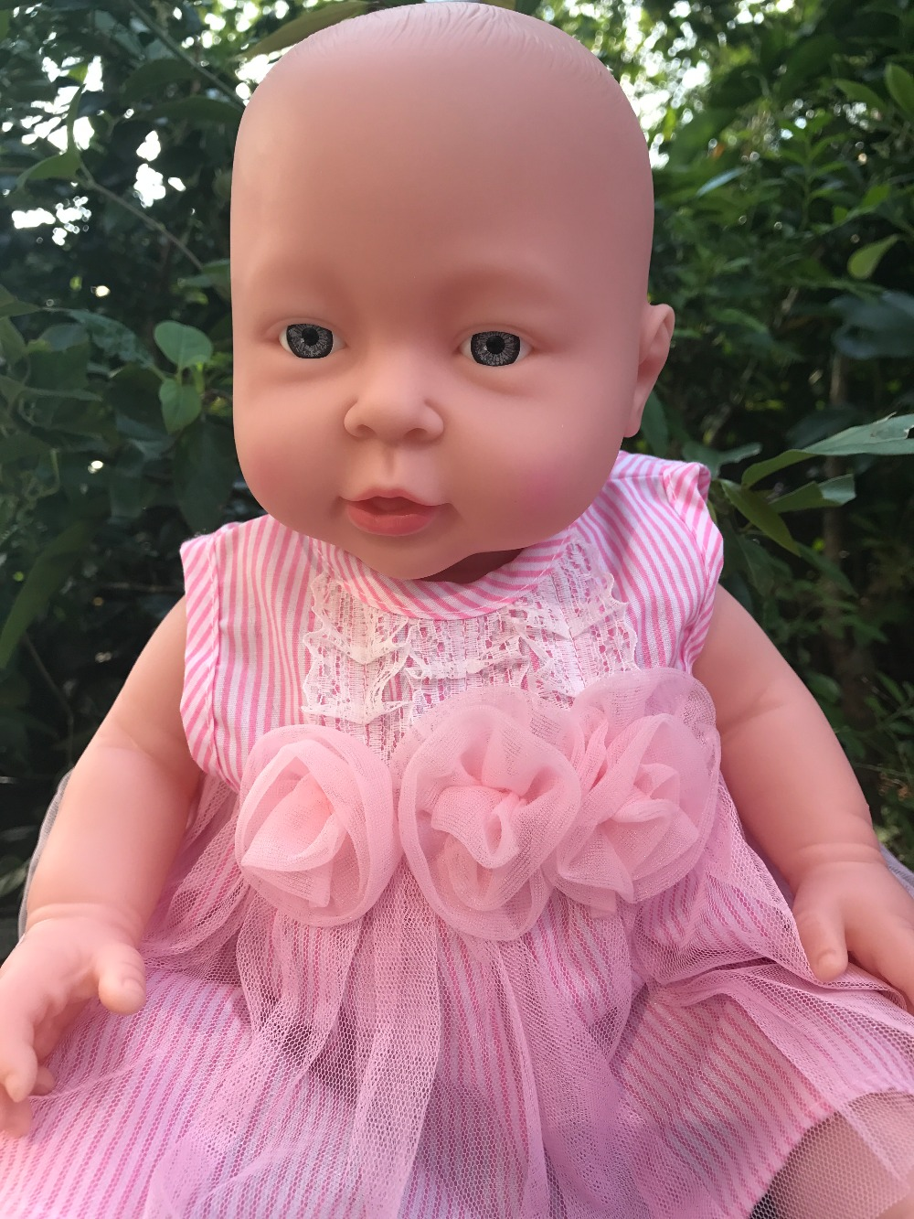Can Be Free To Change Clothes 41cm Vinyl Heavy Baby Doll