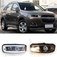 Ownsun New Eagle Eyes LED Projector Lens Headlights For Chevrolet Captiva 2012 2017