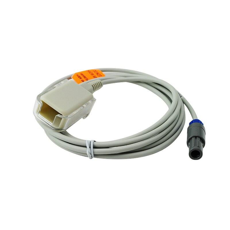 Kabel Adaptor Ekstensi SpO2, Redel 6pin ke DB9 Perempuan Kompatibel - Kebersihan mulut - Foto 2