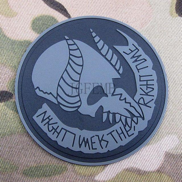 US $5 53 15% OFF|Grey Jormungand Seal Team 9 Morale Military Embroidery  patch Badges PB893-in Patches from Home & Garden on Aliexpress com |  Alibaba