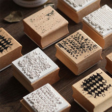 Vintage Based series wood stamp DIY craft wooden rubber stamps for scrapbooking stationery standard