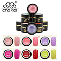 CHE GEL Beautiful Painting Gel 12 Colors 6 ml 3D Sweater Gel  Reliefs Gel Hook Line Nail Gel for Manicure ZJY077