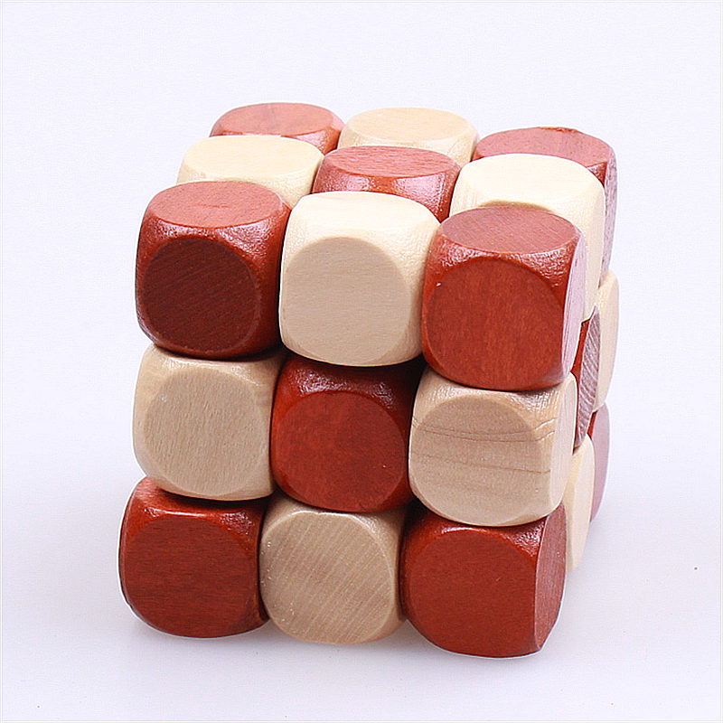 NEW 3D WOODEN EDUCATIONAL TOYS JIGSAW PUZZLE LNBAN KONGMING - Ойындар мен басқатырғыштар - фото 2