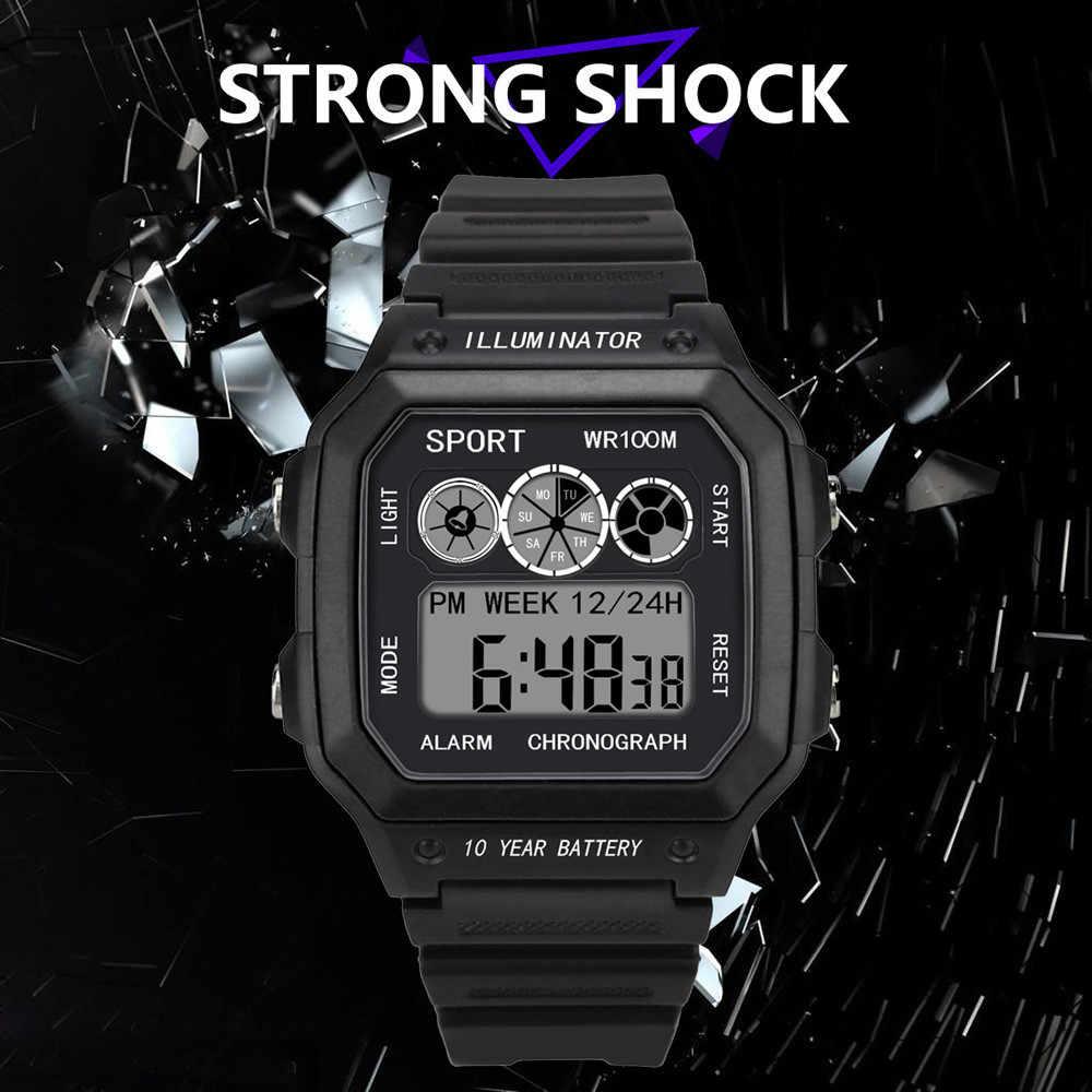 Relogio masculino 2019 degli uomini della vigilanza di Stile di visualizzazione impermeabile elettronico digitale orologio uomo Relogio maschio reloj hombre orologio per gli uomini