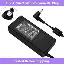 19 V 4.74A 90 W 5.5*2.5mm Laptop AC Adapter Oplader Voor Asus K46 K53 K43 A45S a53S F8 F6 F81 N53 N55 N75 A56 A46 U31 U44
