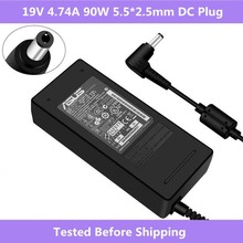 19V 4.74A 90W 5.5*2.5mm Laptop AC Adapter Power Charger For Asus K46 K53 K43 A45S A53S F8 F6 F81 N53 N55 N75 A56 A46 U31 U44
