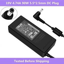 19 V 4.74A 90 W 5.5*2.5 milímetros Laptop Adaptador AC Carregador de Energia Para Asus K46 K53 K43 A45S a53S F8 F6 F81 N53 N55 N75 A56 A46 U31 U44