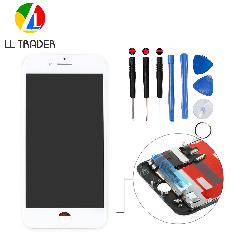 c5110d88e7a LL TRADER NO Dead Pixel Touch For iPhone 7 Screen Replacement LCD Pantalla Display  Digitizer 7G LCD Screen Assembly Repair+Tools