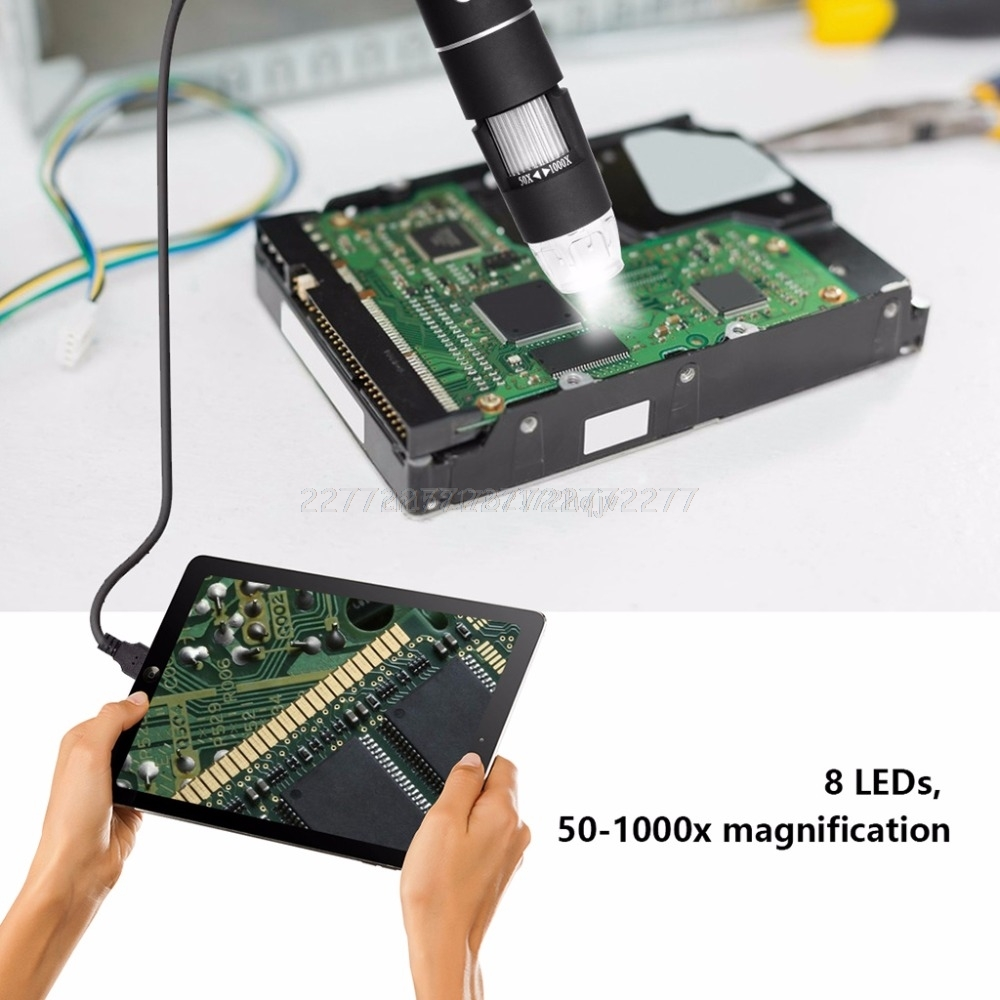Image 4 - Multifunctional Handheld Digital USB Microscope for phone repair soldering Electron Microscopes Mr29 19 Dropship-in Microscopes from Tools