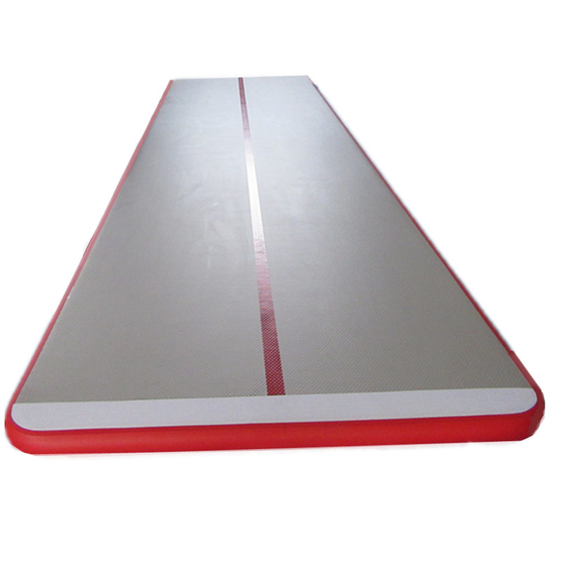 Купить с кэшбэком Great river hill fitness mat inflatable air track use for water red 5m x 1.5m x 10cm