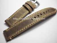 2018 High-end Men Retro 20 22mm Handmade Leather Brown VINTAGE Replacement Wrist Watch Band Strap Belt for Brand Watch+ Tools