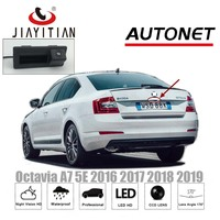 JIAYITIAN Rear View Camera For Skoda Octavia MK3 A7 5E 2014 2015 2016 2017 2018 Superb MK3 Trunk Handle Camera backup camera