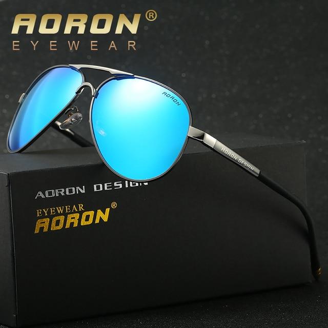 cf5992b30 AORON Brand Best Men's Sunglasses Polarized Mirror Lens Big Oversize  Eyewear Accessories Sun Glasses For Men/Women 8503