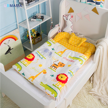 120*70cm High-quality cotton foldable sleeper portable kids bed soft Newborn baby crib baby product gift quilt(China)