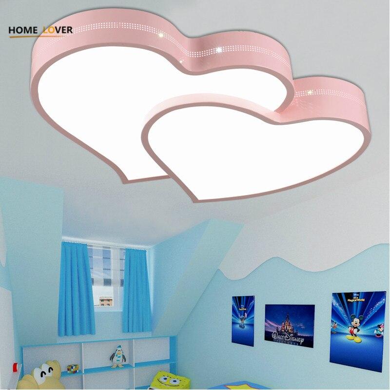 Enfants lampe Pour intérieur éclairage led luminaria Chambre Cuisine lumières Moderne enfants chambre éclairage de plafond lampe enfants