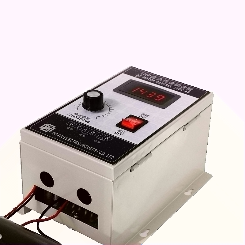 Régulateur de vitesse de moteur à aimant Permanent de haute qualité 220 V 1HP 500 W DC