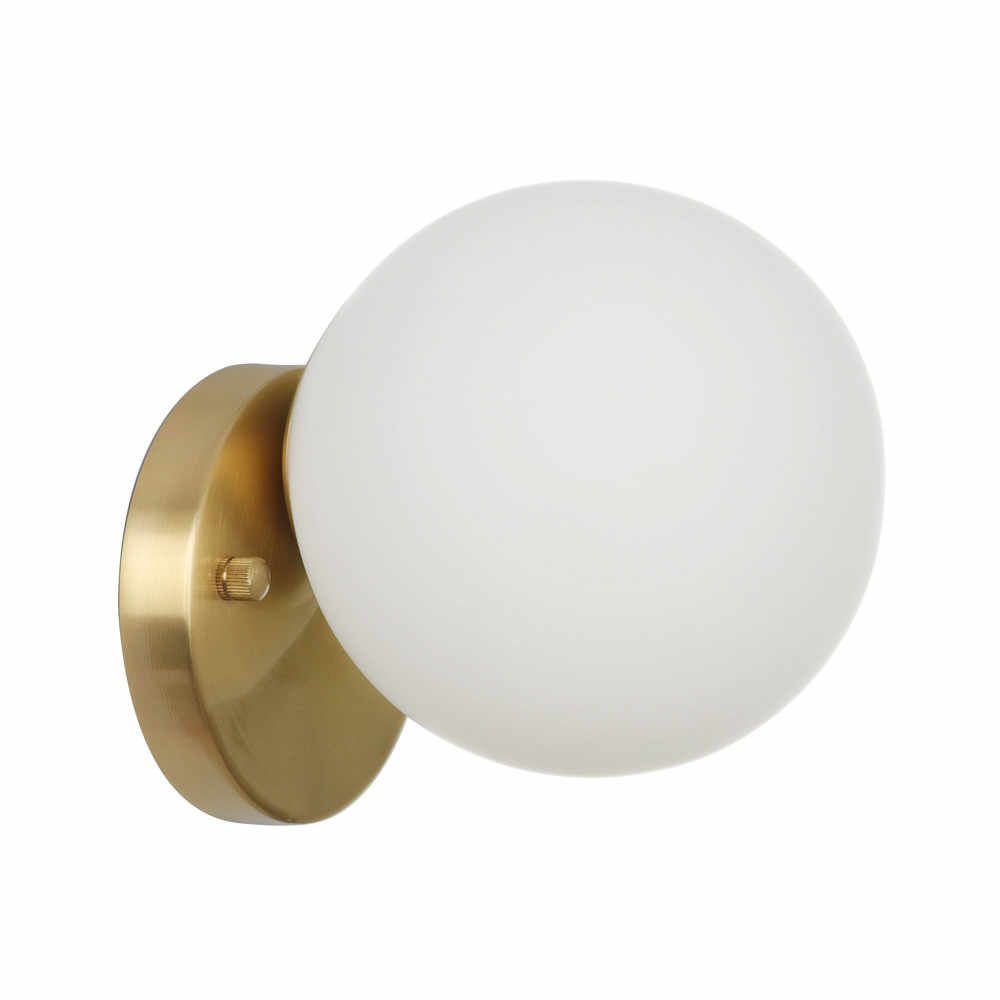 Круглые стеклянные Светодиодный настенный светильник в стиле лофт, медные Настенные светильники, современный настенный светильник, прикроватный домашний декор, светильники wandlamp E27