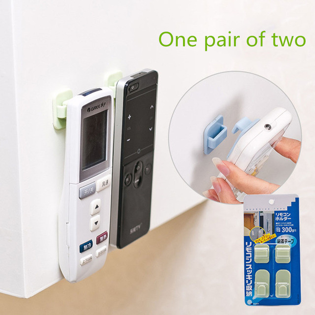 Ganci in plastica 2 pairs (4 pcs) appiccicoso Gancio Set TV Air Conditioner di C