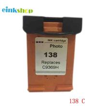 1 Pack Tri-Color  Compatible Ink Cartridge for HP138 For HPC9369H 9803 6213 7413 Printer lcl 765 9 1 pack red ink cartridge compatible for pitney bowes dm300c dm400c dm425c ml dm425c mm dm450c dm475c 3c00 4c00 5c00
