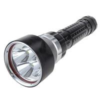 Bright 6000 Lumen 4X CREE XM L2 LED Hunting Flashlight Torch 100M Waterproof Underwater Diving Flash Light Powered by 18650
