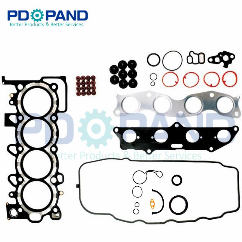 L15A1 Engine Overhaul Rebuilding Gasket Kit 06110-REB-Z00 for Honda JAZZ II GD FIT ARIA Saloon 1.5 1497cc 2003-