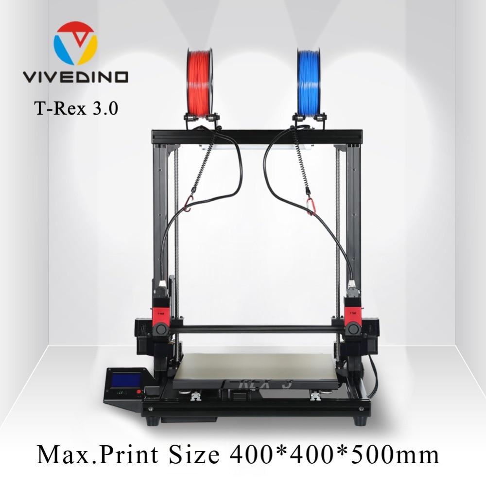 Diy 3D Métal Imprimante, Grande Taille D'impression, Prusa i3 3D Imprimante